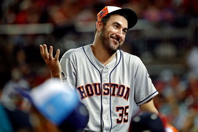 Astros pitcher Justin Verlander says viral, '$1 million' lunch bill was comped by hotel