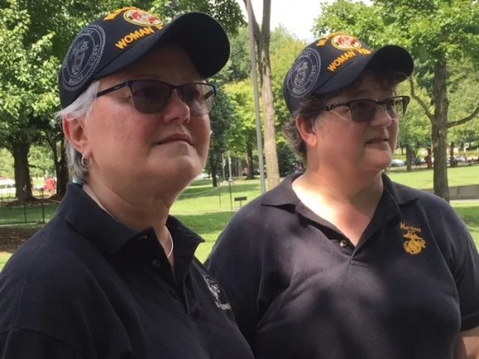 Deb Drummond and Lori Weatherwax praised the last Sen. John McCain, R-Ariz.,  for his military service and advocating for veterans.