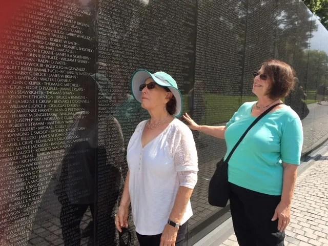 Vietnam Wall Cousins