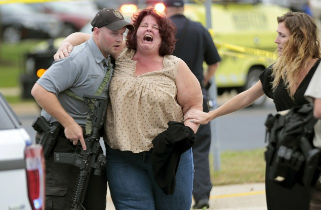 Gunman dies after wounding 4 in shooting rampage at Wisconsin office building, authorities say