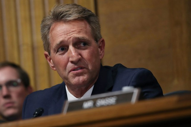 Jeff Flake to Republicans: Don't support Trump reelection in 2020