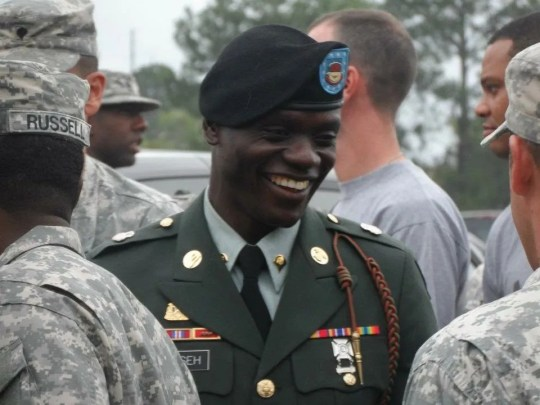Germain Dosseh served four years in Afghanistan with the U.S. Army.