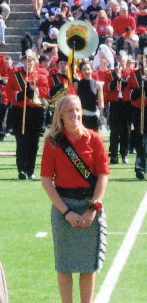Breana Roth, a 2004 Colerain High School honors graduate, was a candidate for the University of Cincinnati homecoming court in 2008.