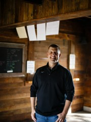 Chris Deal poses for a photo at his families apple orchard near Jefferson on Thursday, Sept. 27, 2018. When the software consultant company Pillar Technology wanted to expand into rural Iowa, Deal suggested Jefferson as an option. Now, Pillar plans to invest $1.7 million to open an office in the rural community, and hire up to 35 people there.