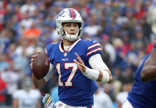 Josh Allen expected to start at quarterback for Buffalo ...
