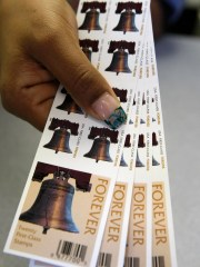 The U.S. Postal Service is seeking to increase the price of its first-class stamp by 5 cents to 55 cents.
