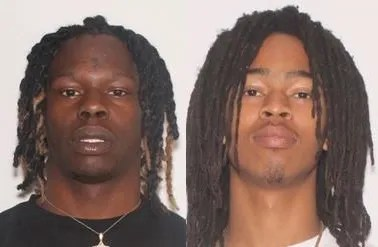 Anthony Williams Jr, 21, also known as YNW Sakchaser (left), and Christopher Thomas Jr., 19, also known as YNW Juvy