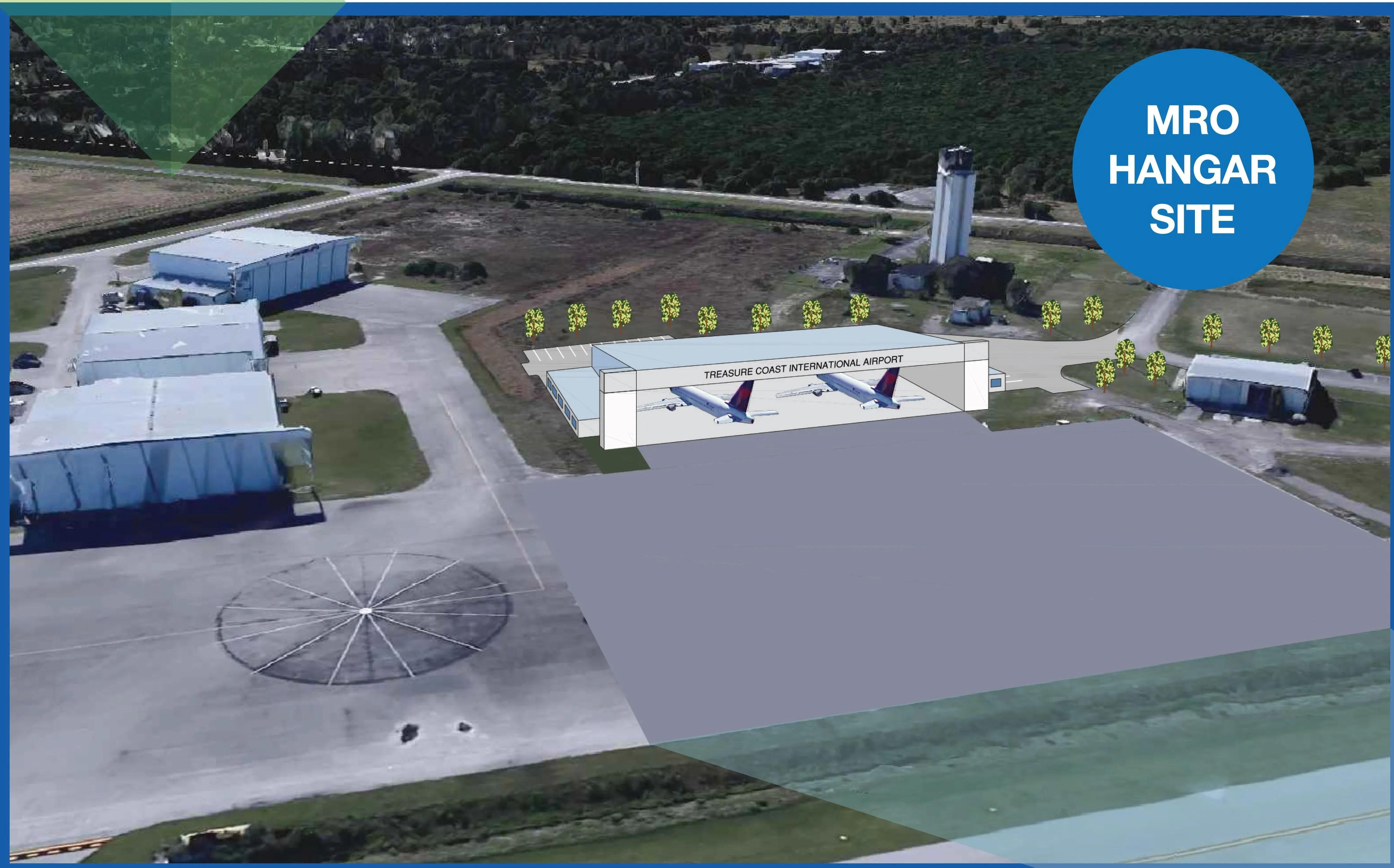 Treasure Coast International Airport hangar ready for ...