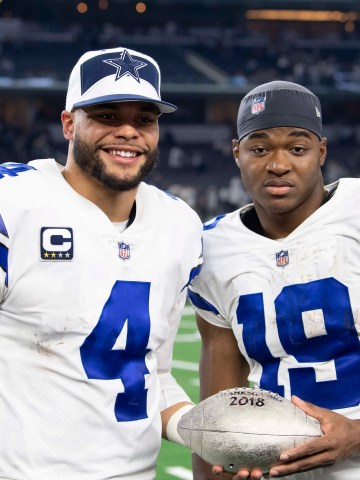 Dak Prescott, Amari Cooper and the Cowboys have won three straight to climb to the top of the NFC East.