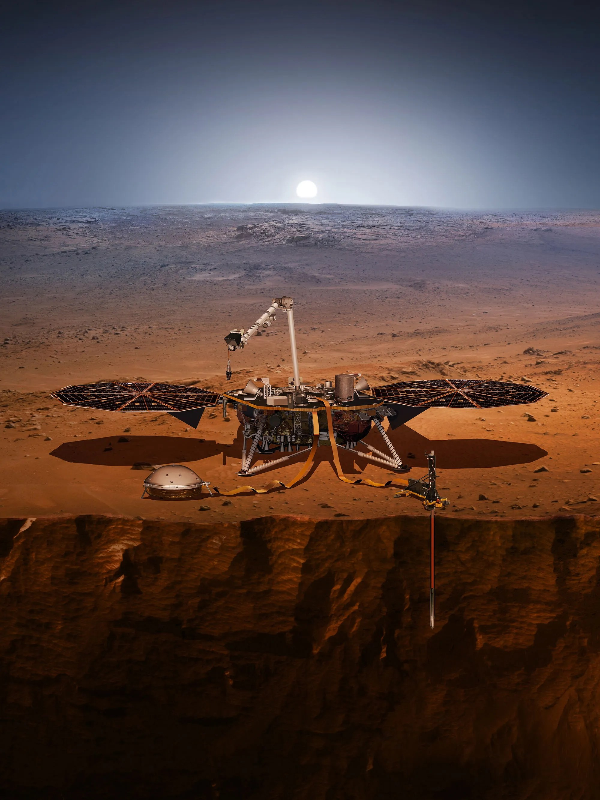 Mars InSight landing energizes focus on Red Planet
