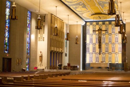 St. Anne Catholic Church in Castle Shannon, Pa.