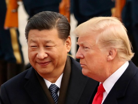 Image result for trump & XI