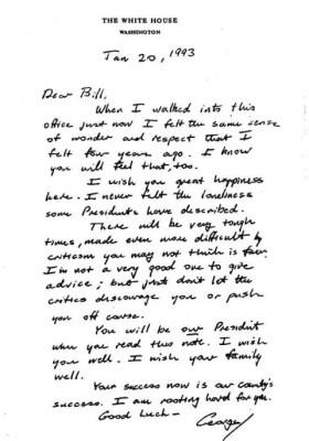 Bush Letter