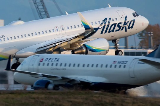 Alaska Airlines is launching a fare sale that guarantees an empty seat for passengers traveling together.