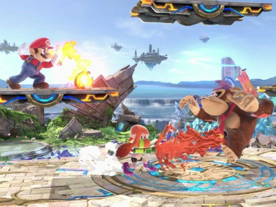 "In Nintendo's ""Super Smash Bros. Ultimate, you can pick your favorite fighter and play against the game's A.I. or a friend, to see who reigns supreme. This cartoon brawler is a blast."