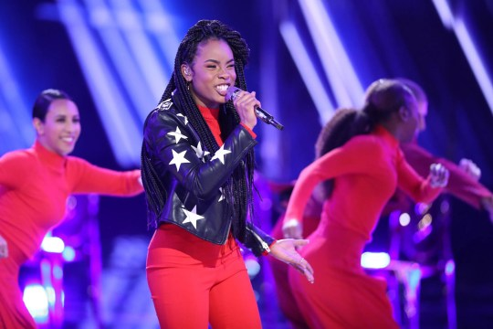 St. Louis native Kennedy Holmes, the season's youngest competitor at 14, came in fourth place on