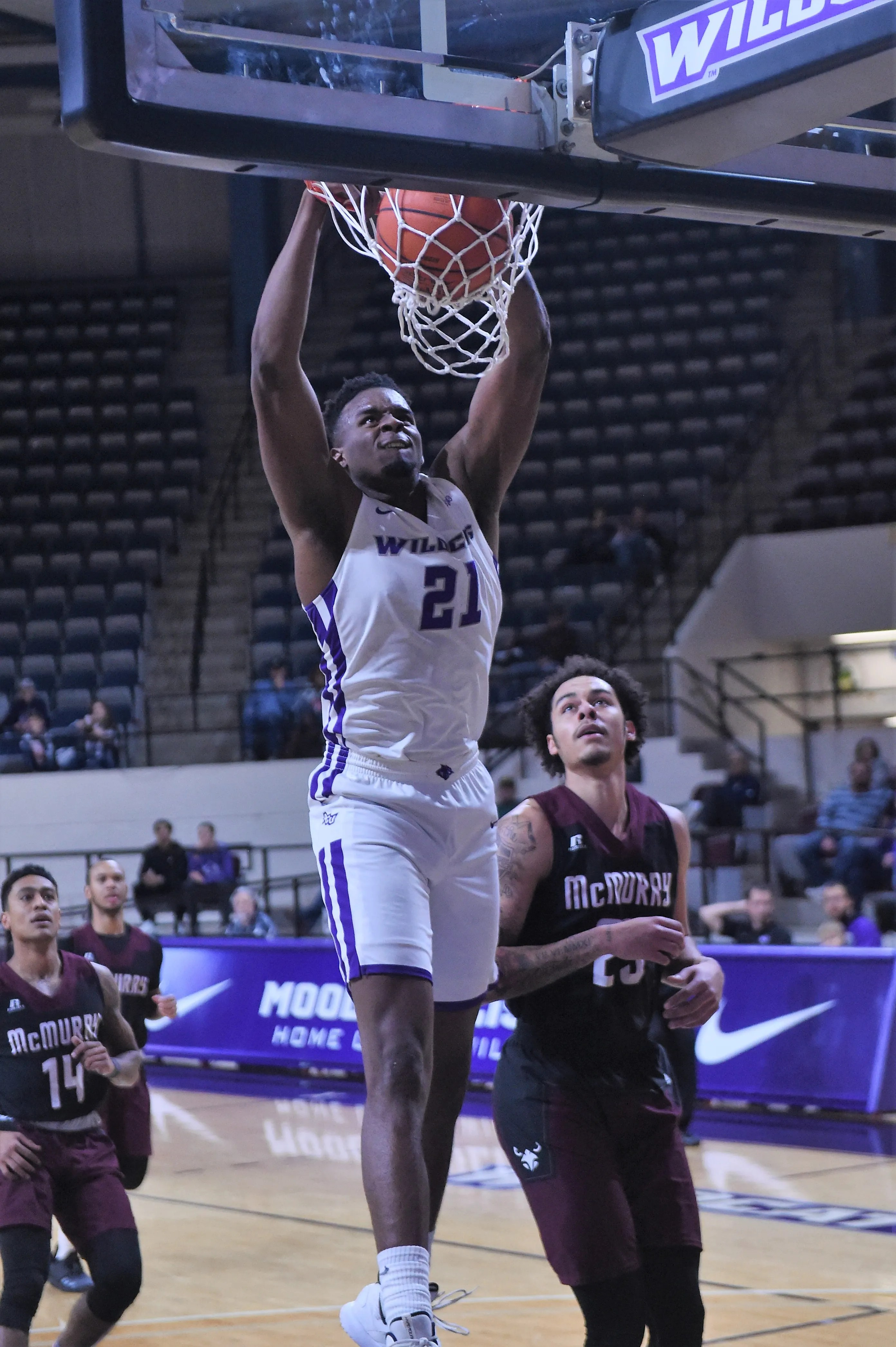 ACU men's basketball dominates second half in win against ...