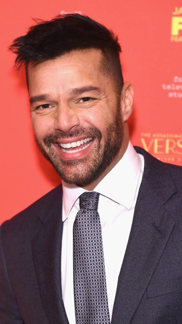Ricky Martin dropped parenting news on New Year's Eve.