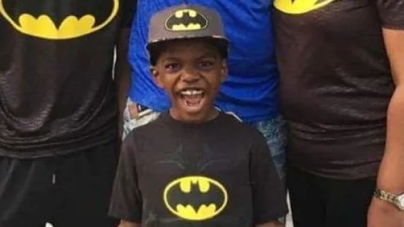 Cameron Scott, 9, loves all superheroes. But Batman is his favorite.