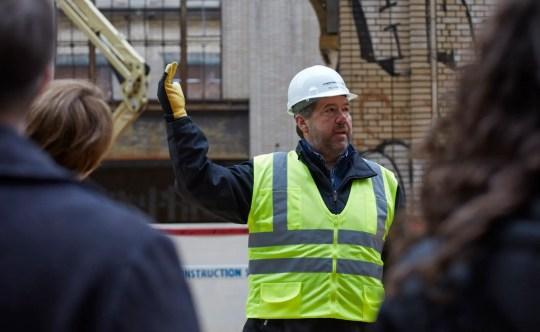 Richard Bardelli, Ford Land construction manager.