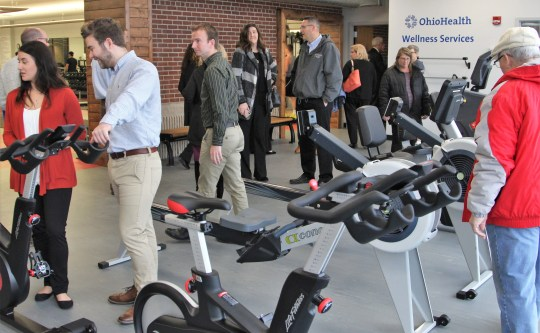 The five month long project also saw the creation of the OhioHealth Wellness Room, which will offer physical therapy and similar services.