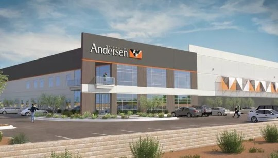 Officials broke ground on Andersen Corporation's Goodyear facility on Jan. 11.