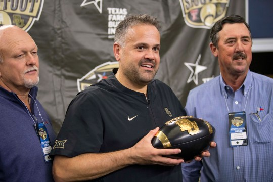 Head coach Matt Rhule led Baylor to a 7-6 record this season.