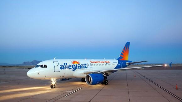 Allegiant Air has 19 routes to her summer schedule.