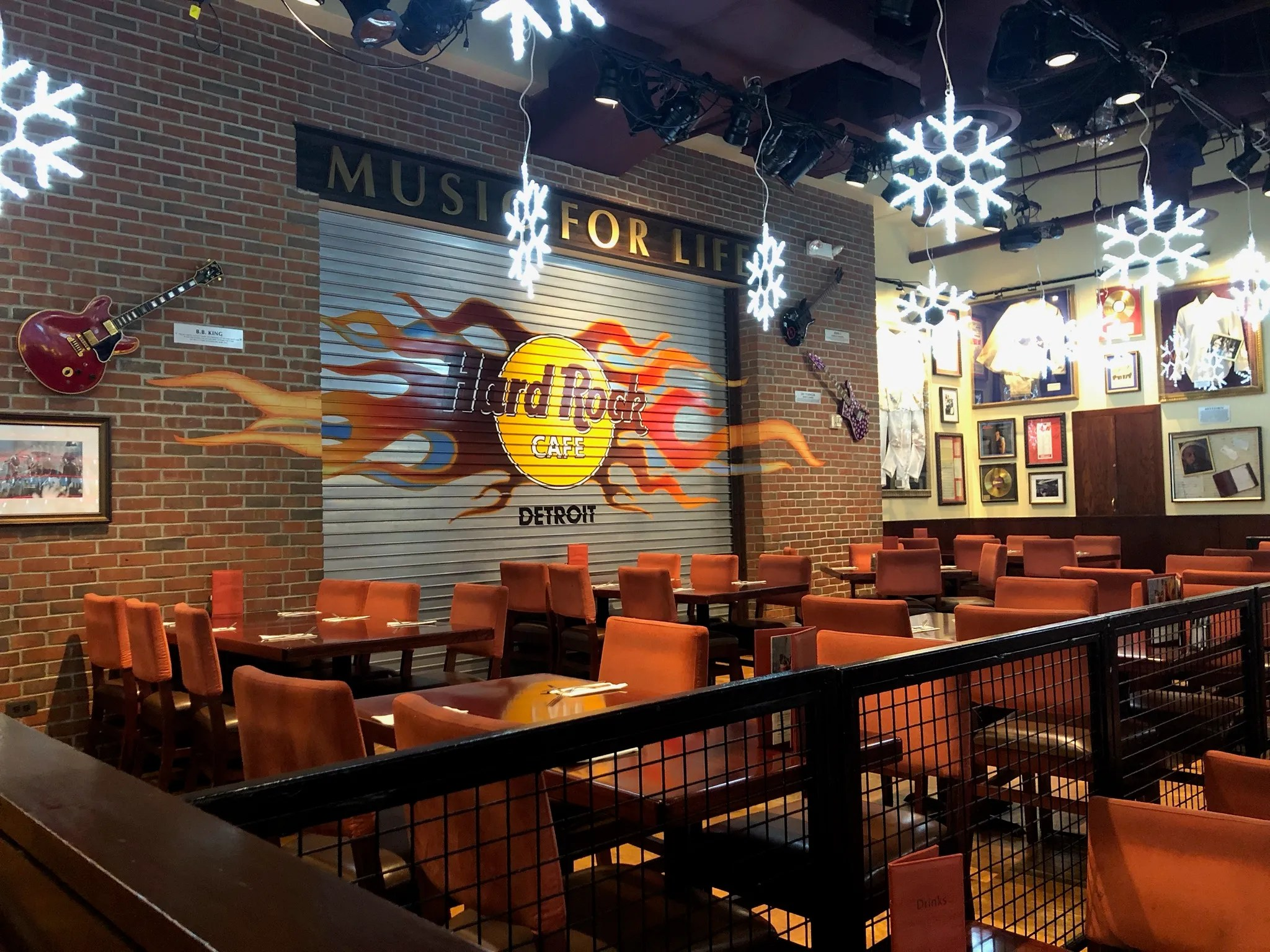 Hard Rock Cafe's last day in Detroit is Saturday