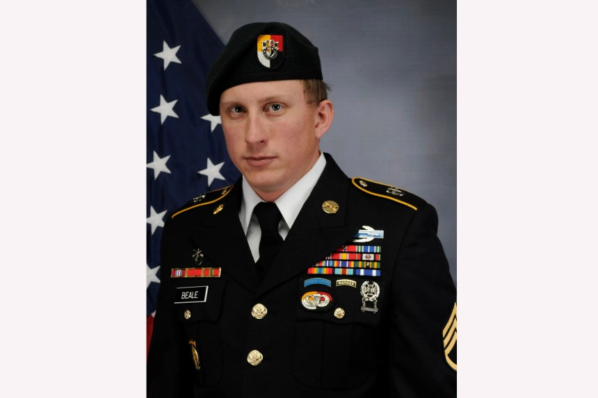 US Army Special Forces Sgt. 1st Class Joshua Beale, killed in Afghanistan on Operation Freedom's Sentinel