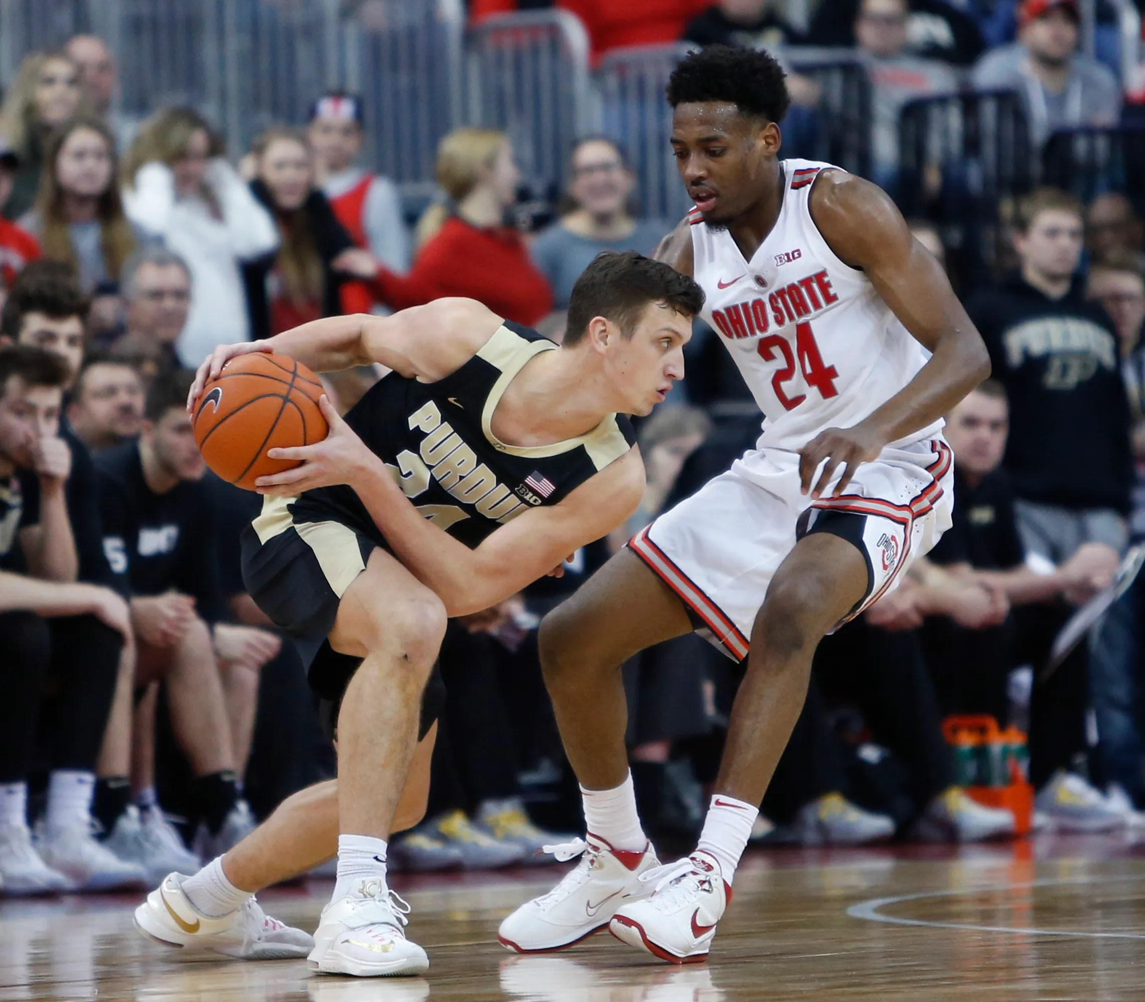 Grady Eifert's grit helping Purdue men's basketball win