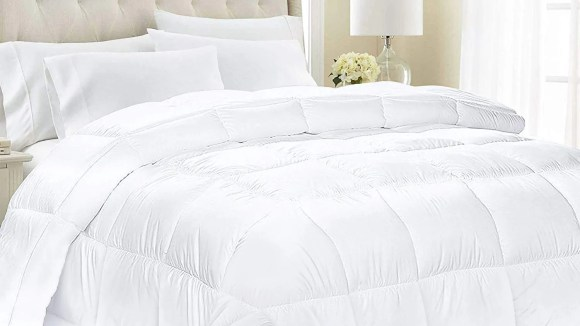 Your comforter is probably pretty gross, so it might be time to replace it.