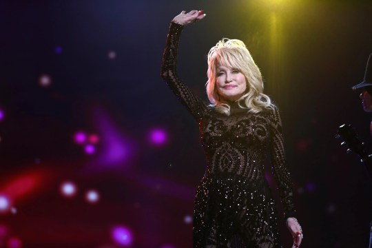 Dolly Parton performs onstage during MusiCares Person of the Year 2019.