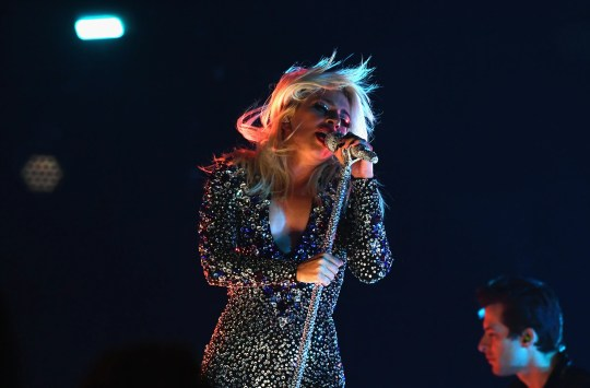 LOS ANGELES, CA - FEBRUARY 10:  Lady Gaga performs onstage during the 61st Annual GRAMMY Awards at Staples Center on February 10, 2019 in Los Angeles, California.  (Photo by Emma McIntyre/Getty Images for The Recording Academy)