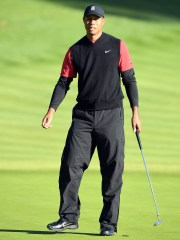 Tiger Woods finished tied for 15th at Riviera.
