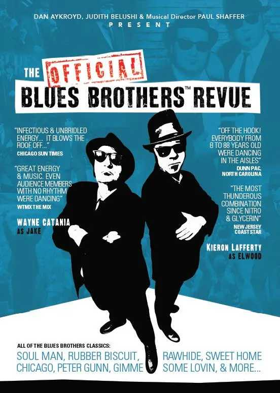 Sweet home chicago by the blues brothers is in the key of a. Things To Do Blues Brothers Build A Bed Arts Fest More