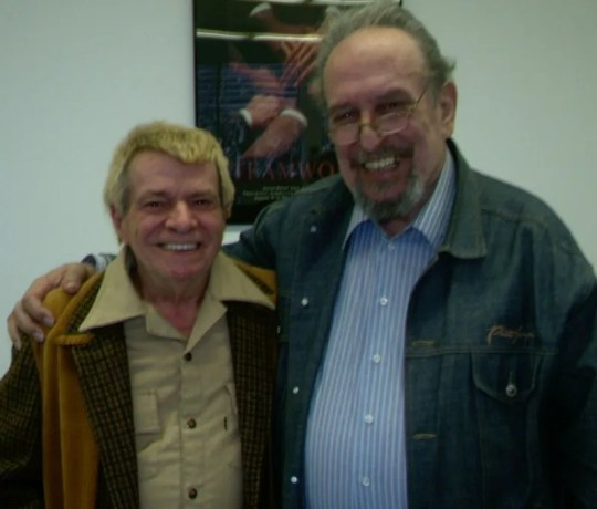 Dennis Day and Ernest Caswell on their wedding day in 2011.