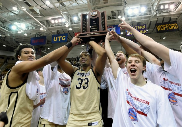 Wofford (29-4), No. 7 seed in Midwest, Southern Conference champion. Eliminated in round of 32.