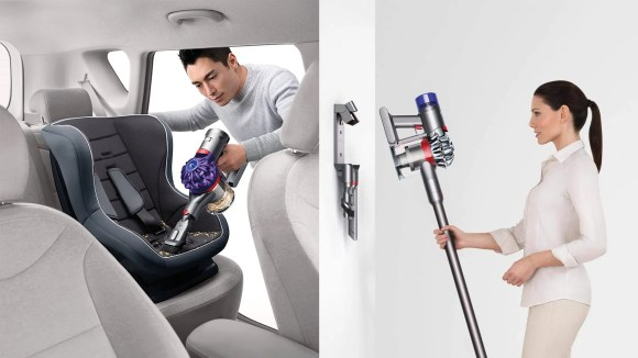 This refurbished cordless vacuum can transform into a handheld device to hit tough-to-reach areas.