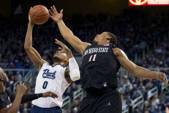 Nevada and San Diego State split their two meetings this season, each winning at home.