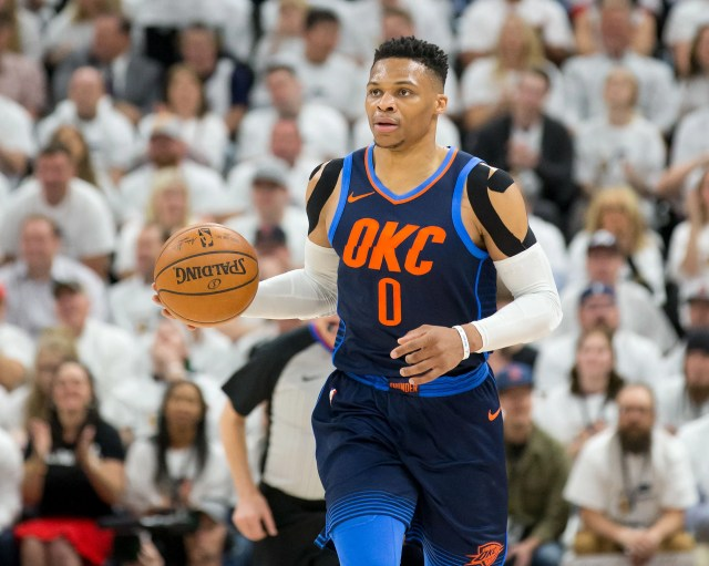 193b7c38-10b7-42fc-a28a-068cc2bbc259-USATSI_10810798 Jazz permanently ban second fan for separate Russell Westbrook incident