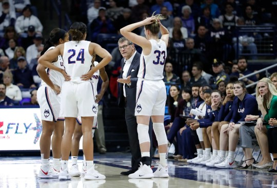 Geno Auriemma and UConn are not a No. 1 seed for the first time since 2006.