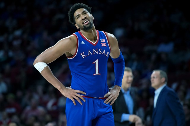 Kansas (25-9), No. 4 seed in Midwest, at-large bid out of Big 12 Conference. Eliminated in round of 32.