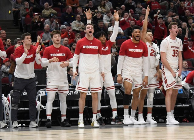 Wisconsin (23-10), No. 5 seed in South, at-large bid out of Big Ten Conference. Eliminated in first round.