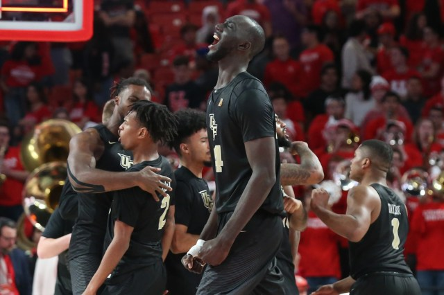 Central Florida (23-8), No. 9 seed in East, at-large bid out of American Athletic Conference.