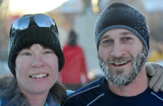 Juli Brandvold and longtime friend and running partner Lindsey Nussbaum will be at the Boston Marathon in a few weeks. It's the completion of a journey for the sight-impaired Great Falls woman, who began running only about four years ago.