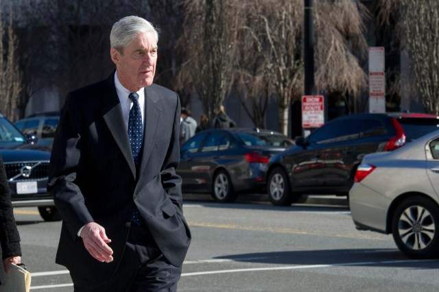 8ae57539-c623-496a-beb3-6d96980db2b7-AP_Trump_Russia_Probe Justice Department offers no clue when Mueller's full report could be released; House leaders want it April 2