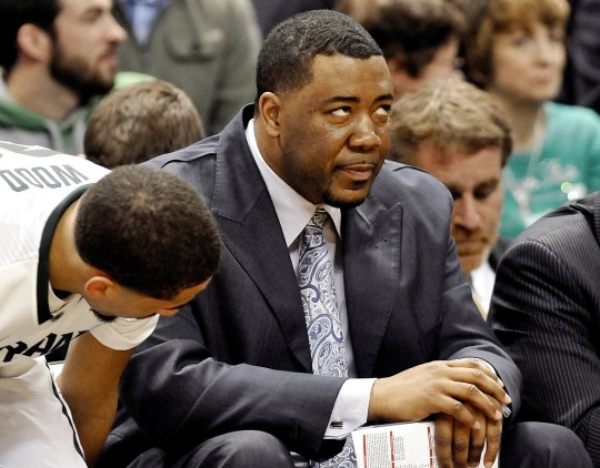 Dwayne Stephens, Michigan State assistant head coach.