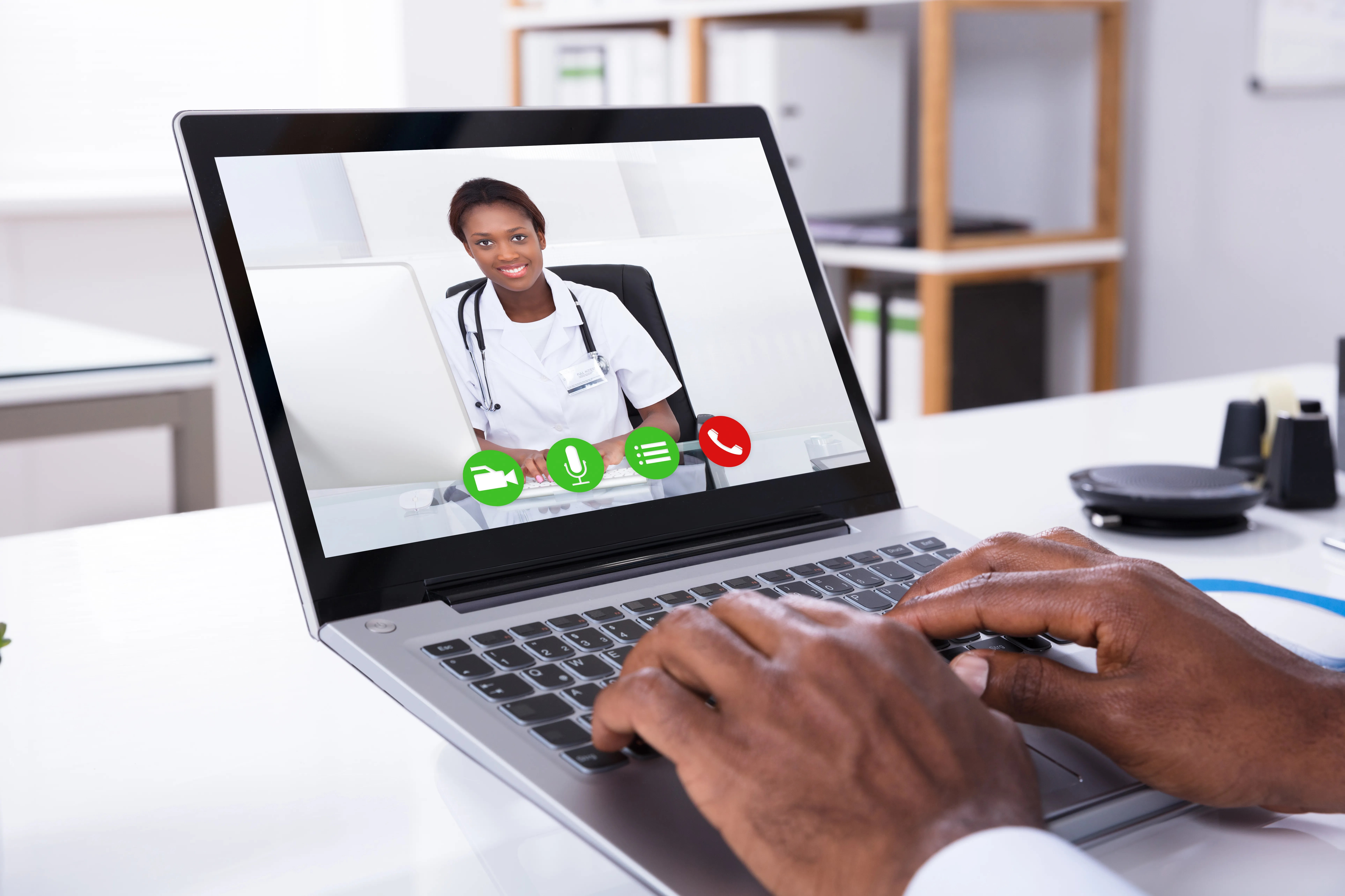 Check with your doctor: Online and phone options may mean you don't have to go into the office.