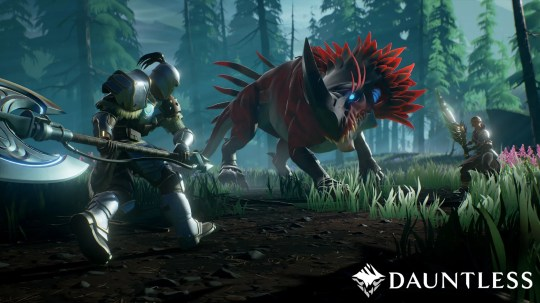 In 'Dauntless,' team up with other online Slayers to hunt massive beasts known as Behemoths, before they consume what's left of the world.